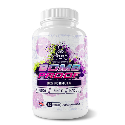 Chemical Warfare Bomb Proof Organ Support - Jacked Bull Nutrition