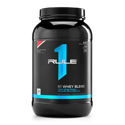 R1 Whey Blend 100% Whey 896g - Jacked Bull Nutrition