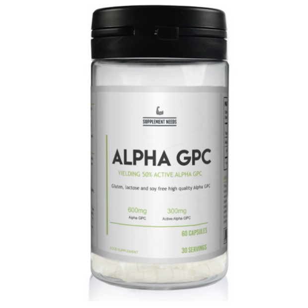 Supplement Needs Alpha GPC  - Jacked Bull Nutrition