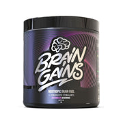 Brain Gains Nootropic Brain Fuel 300g - BLACK EDITION - Jacked Bull Nutrition