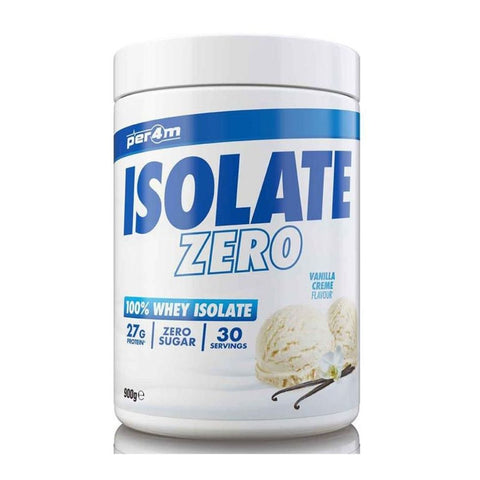 Per4m Nutrition Isolate Zero 100% Whey Protein Isolate 900g - Jacked Bull Nutrition
