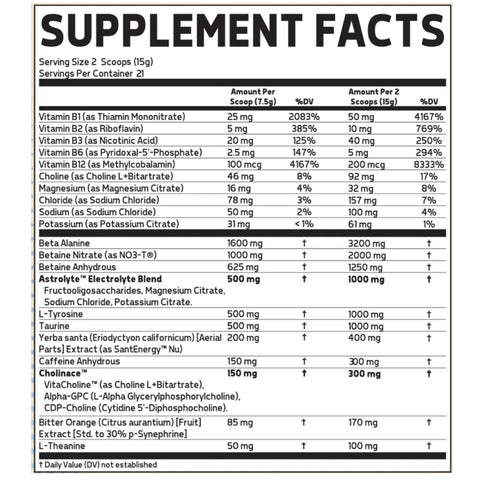 Glaxon Specimen Pre Workout 315g - Jacked Bull Nutrition