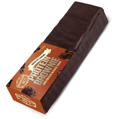 Mountain Joes Protein Brownie 10 x 60g Bars - Jacked Bull Nutrition