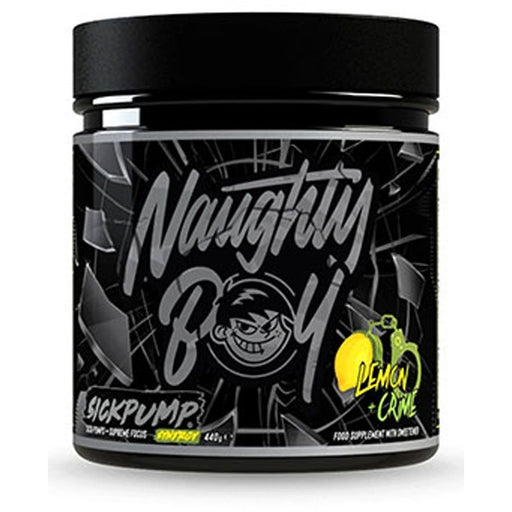 Naughty Boy Lifestyle Sick Pump Synergy 440g - Jacked Bull Nutrition