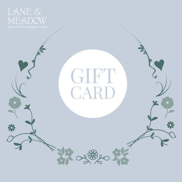 LANE & MEADOW GIFT CARD