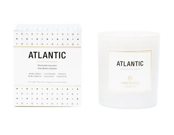 Atlantic 13oz Signature Boxed Candle