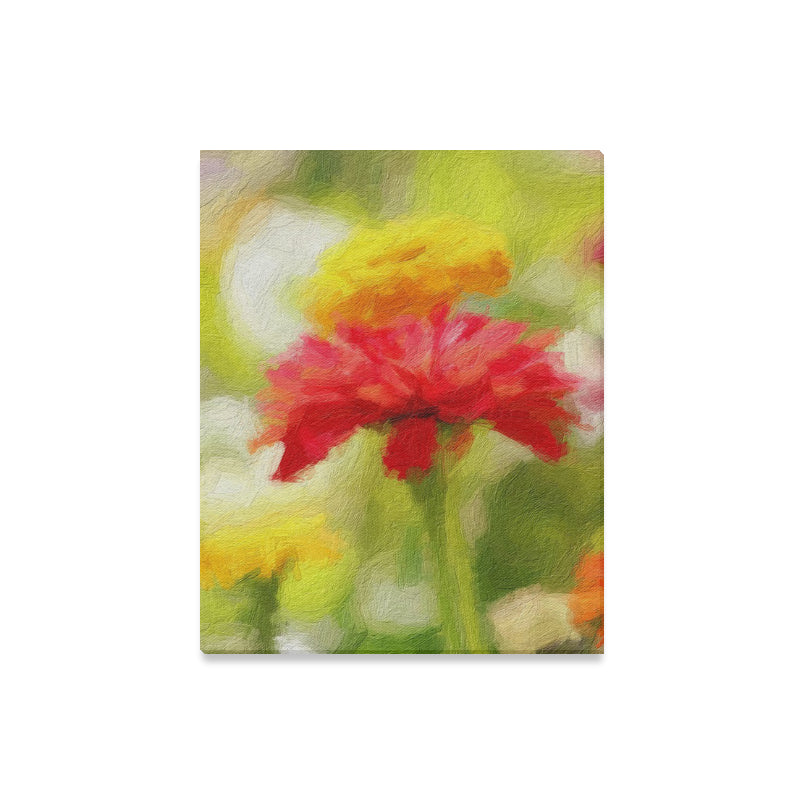 Yellow Vivace Canvas Print 16