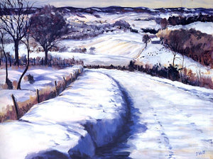 Loess Hills Winter