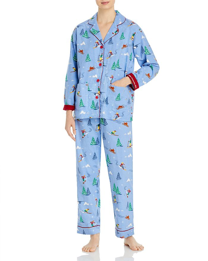 PJ Salvage Flannel Pajama Set