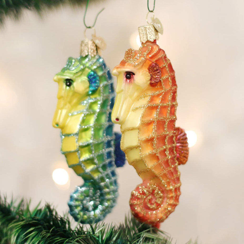 Sea Horse Christmas  Ornament