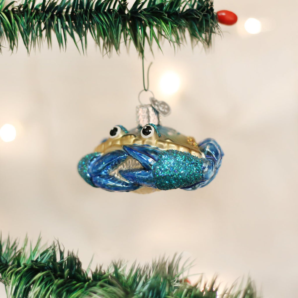 Blue Crab Ornament