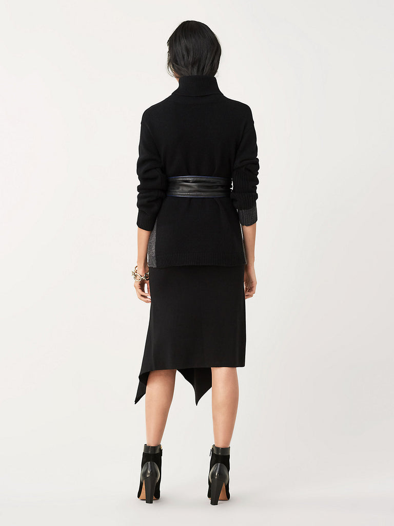 DVF Tierney Black Skirt