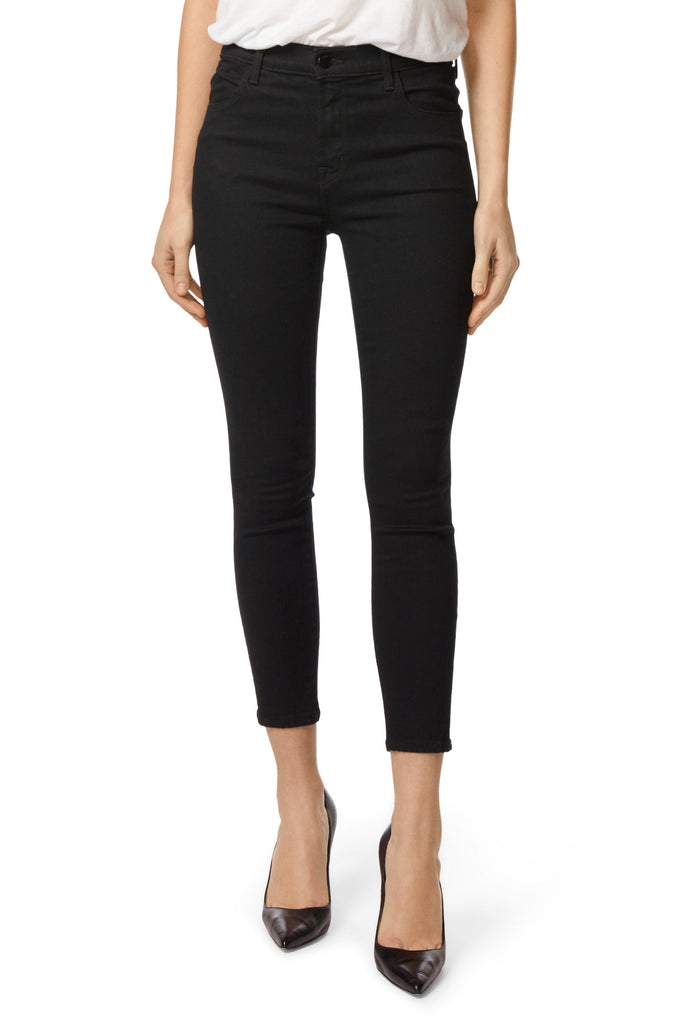 Alana High Rise Crop Skinny in Vanity