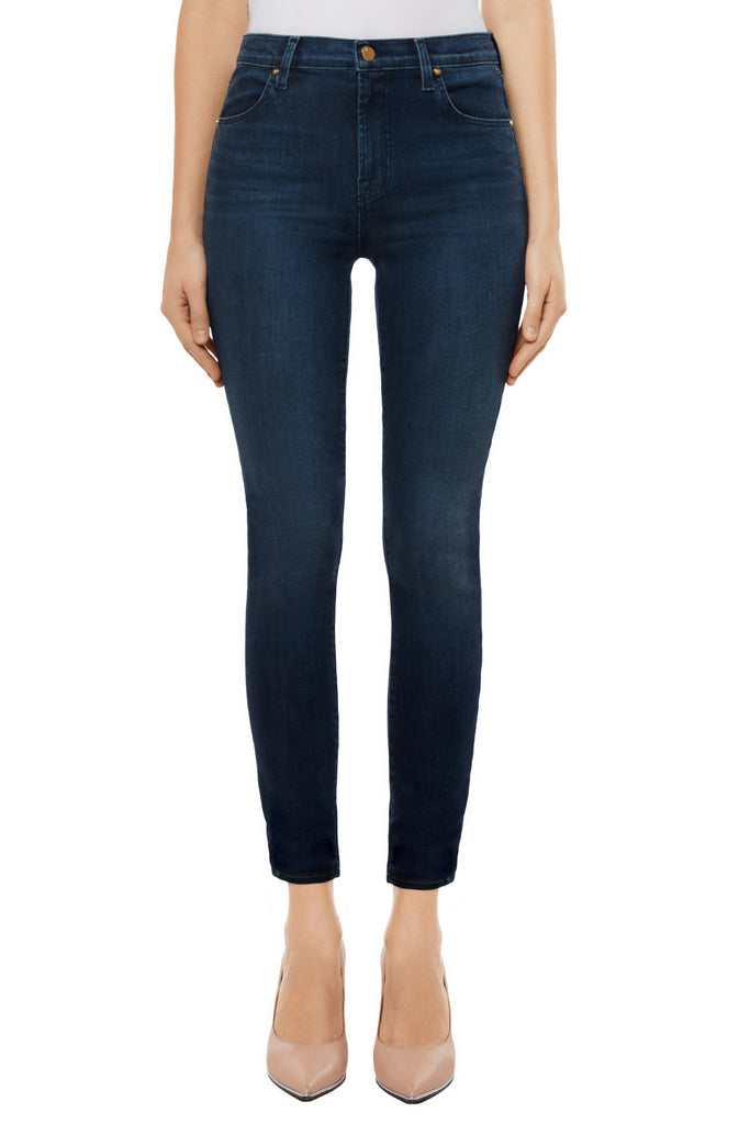 Alana High Rise Crop Skinny in Fix