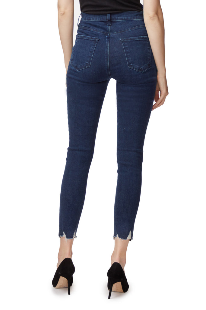Lillie High Rise Skinny Crop Jeans