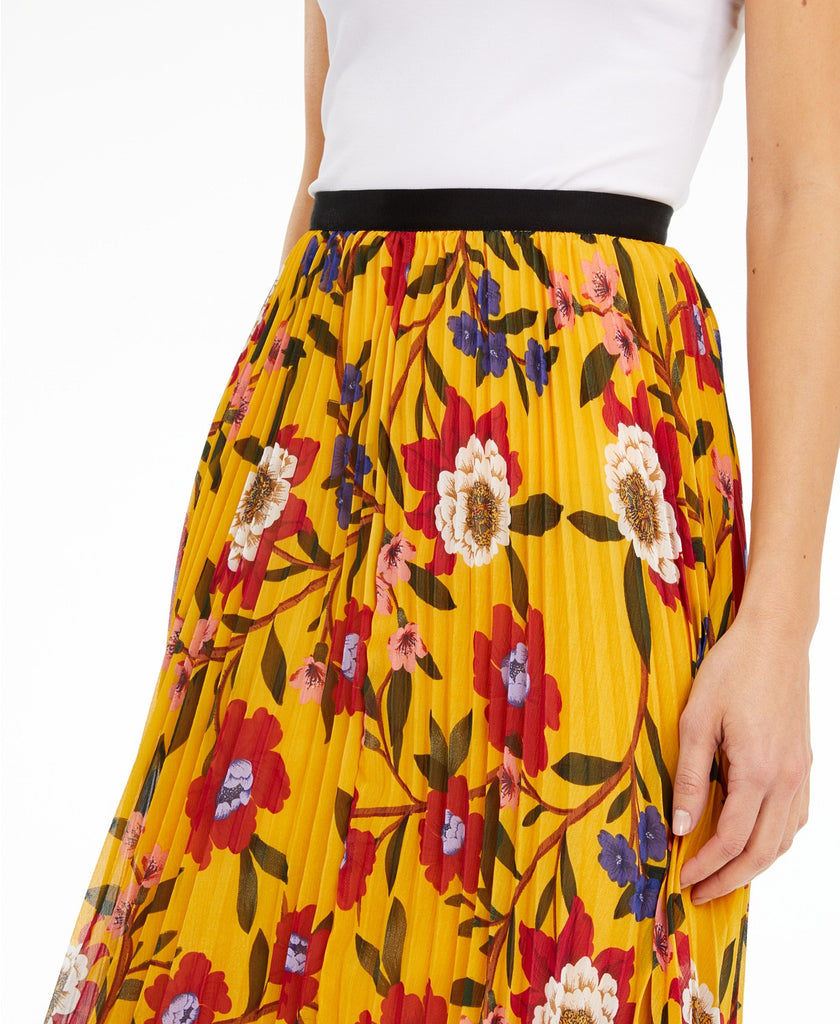 Eloise Crinkle Pleated Skirt