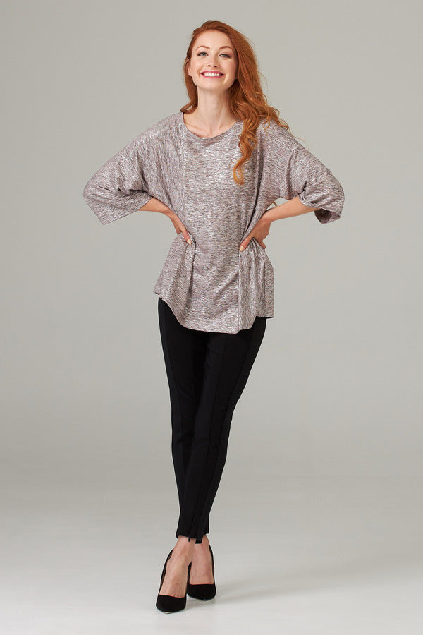 Joseph Ribkoff Top with 1/2 Length Sleeves