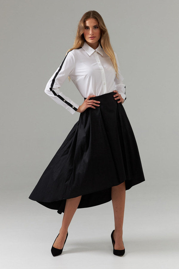 Joseph Ribkoff High Low Skirt