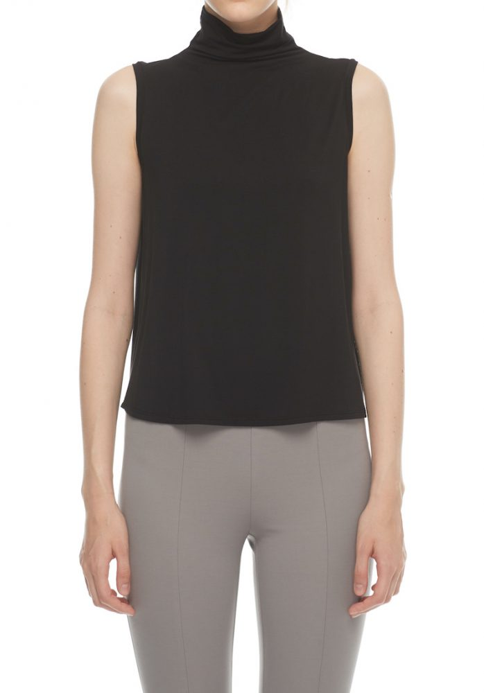 High Collar Tank Top