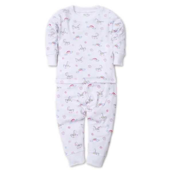 Rainbow Unicorns Pajama Set