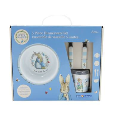 Peter Rabbit 5-Peice Melamine Dish Set