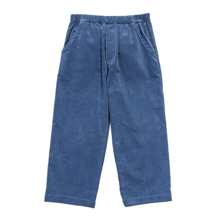 Steel Blue Boys Elastic Pants