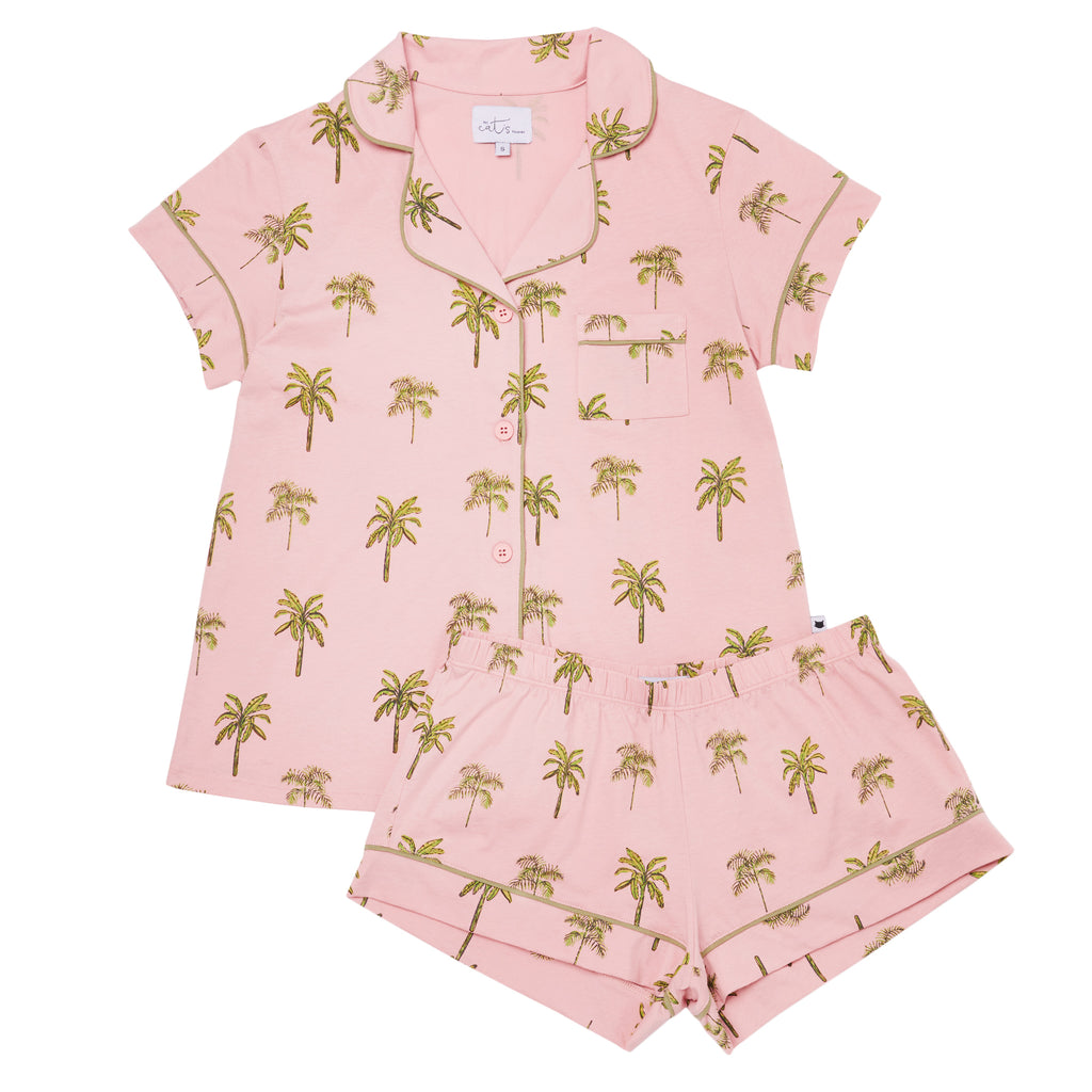 Tahiti Palm Short Set XS