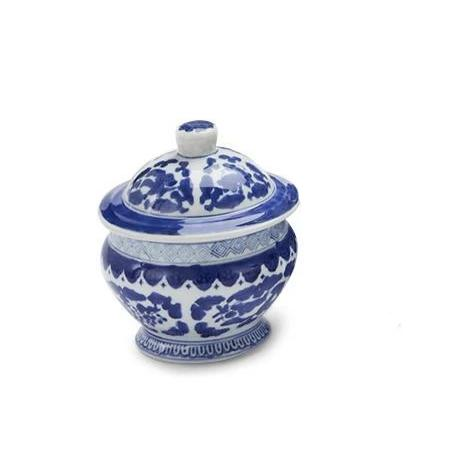 "Canton Collection 6"" Covered jar"