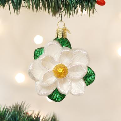 Magnolia Christmas Ornament
