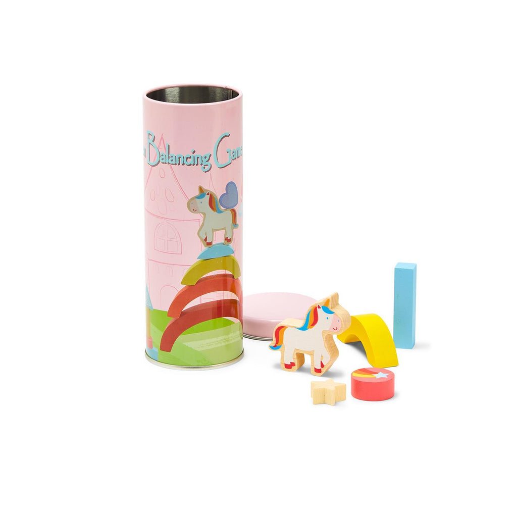 Wooden 12 Piece Unicorn Balance Game