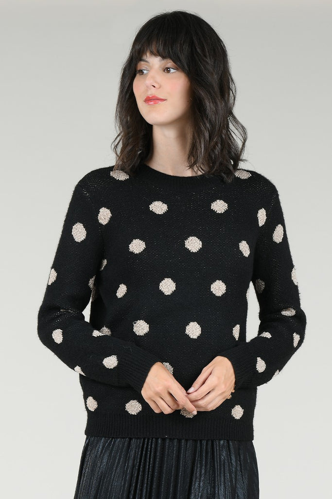 Dots Pattern Sweater