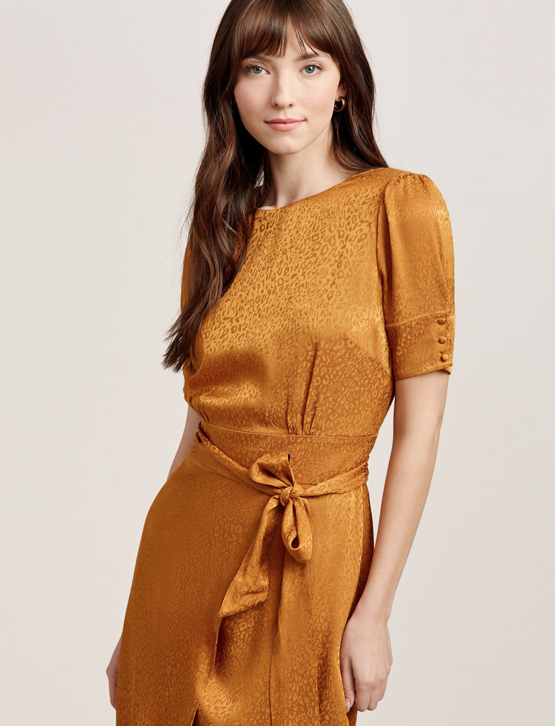 Edison Nights Midi Mustard