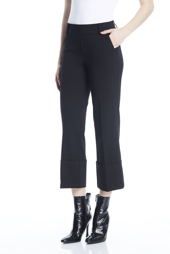 Big Cuff Crop Trouser