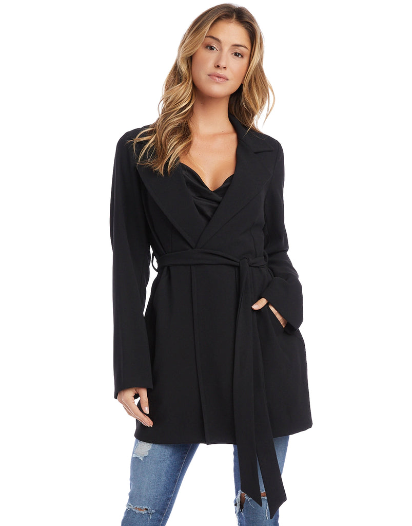 Black Trench Jacket