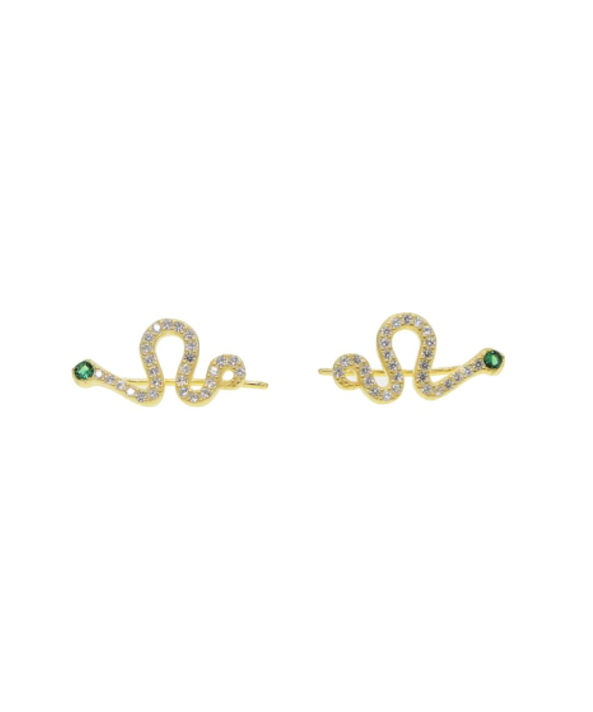 Snake Climber Earrings