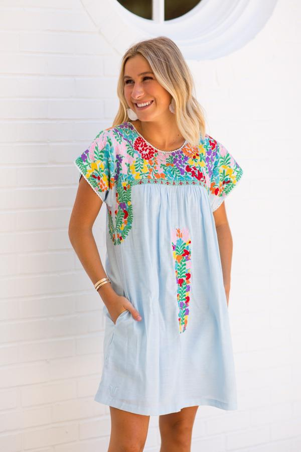 Margaret Embroidered Dress