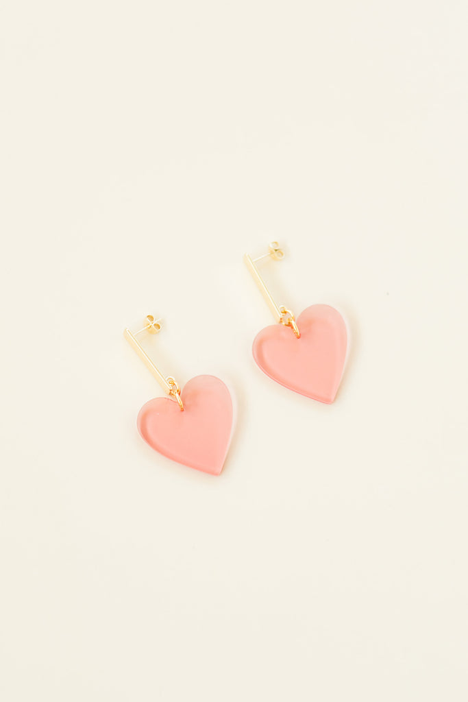 Valentine Mini Heart Earrings
