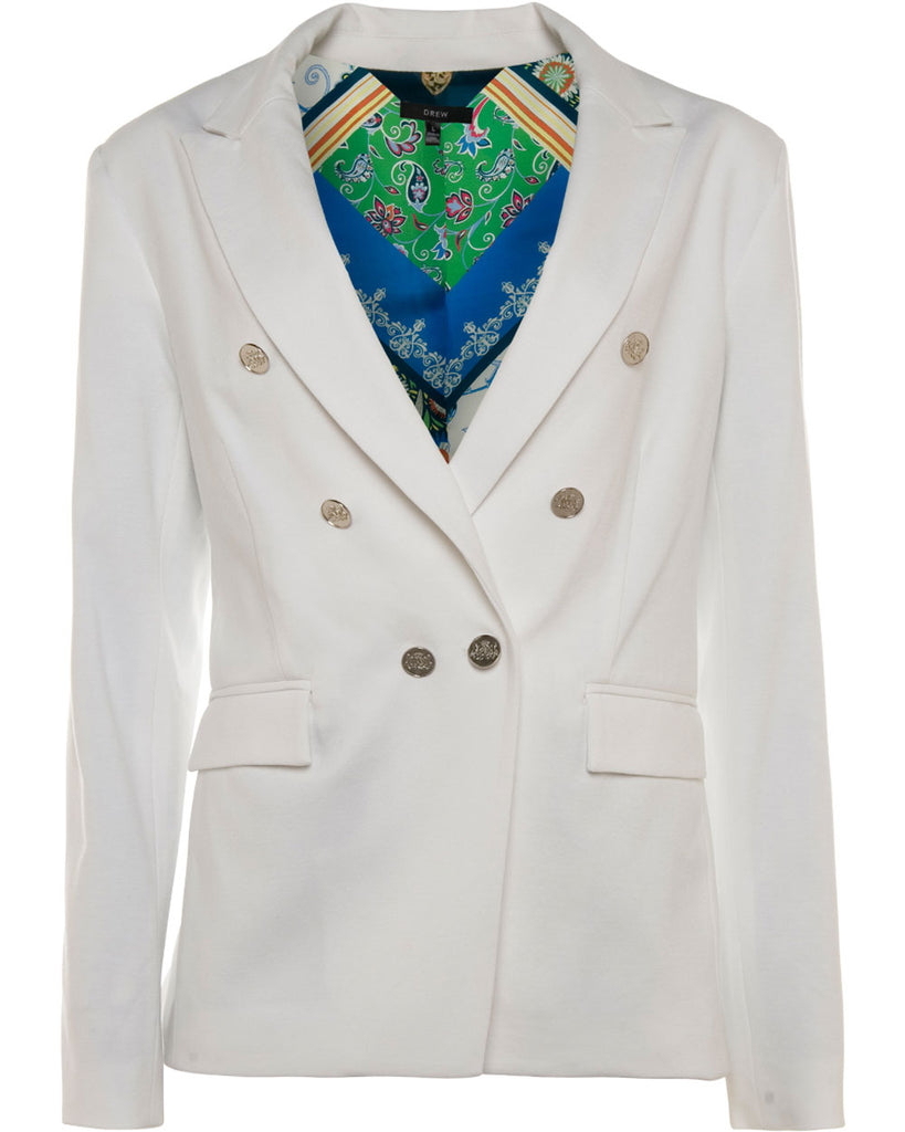 Tai Knit Double Breasted Blazer