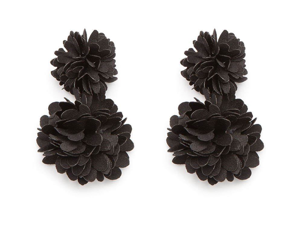 Black Holland Earrings