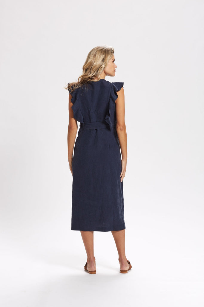 Raine Button Front Dress
