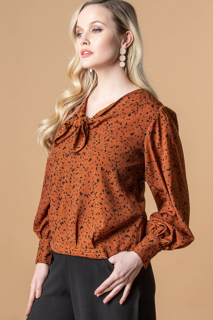 Tula Tie Top Jungle Dot