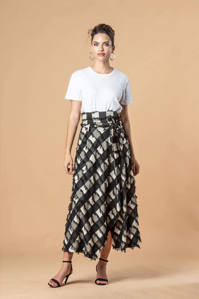 Infinity Skirt in Frisky Plaid