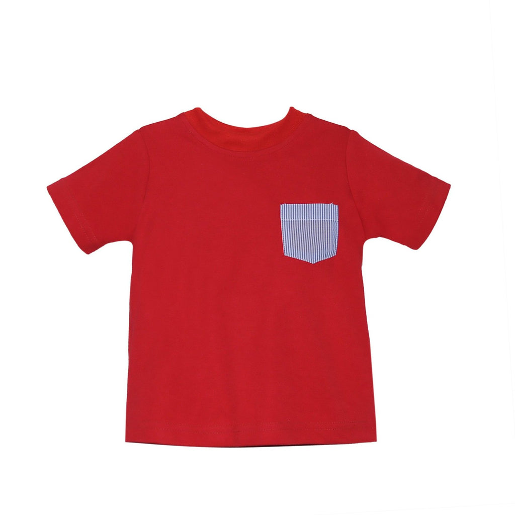 Boys Mason Short Sleeve Shirt with Pocket