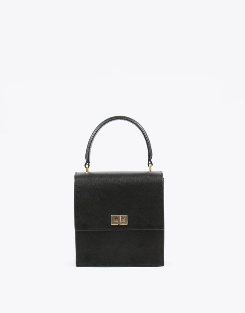Mini Lady Leather Bag