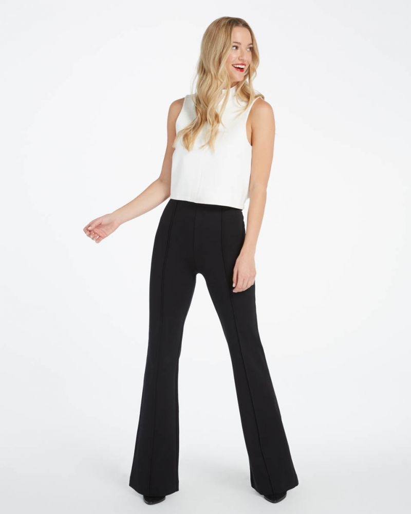 The Perfect Black Pant, Hi-Rise Flare
