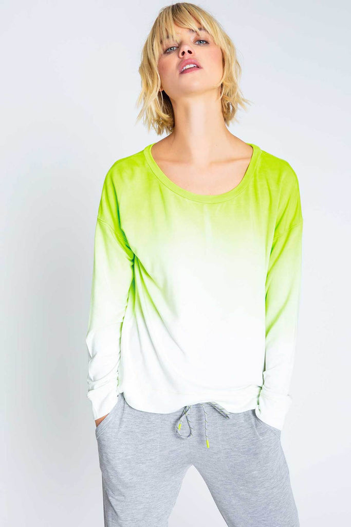 PJS Neon Pop Lounge Top