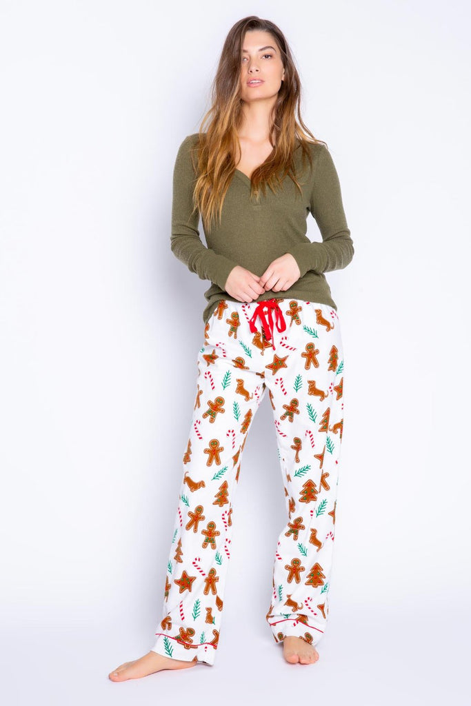 Flannel Gingerbread Pants