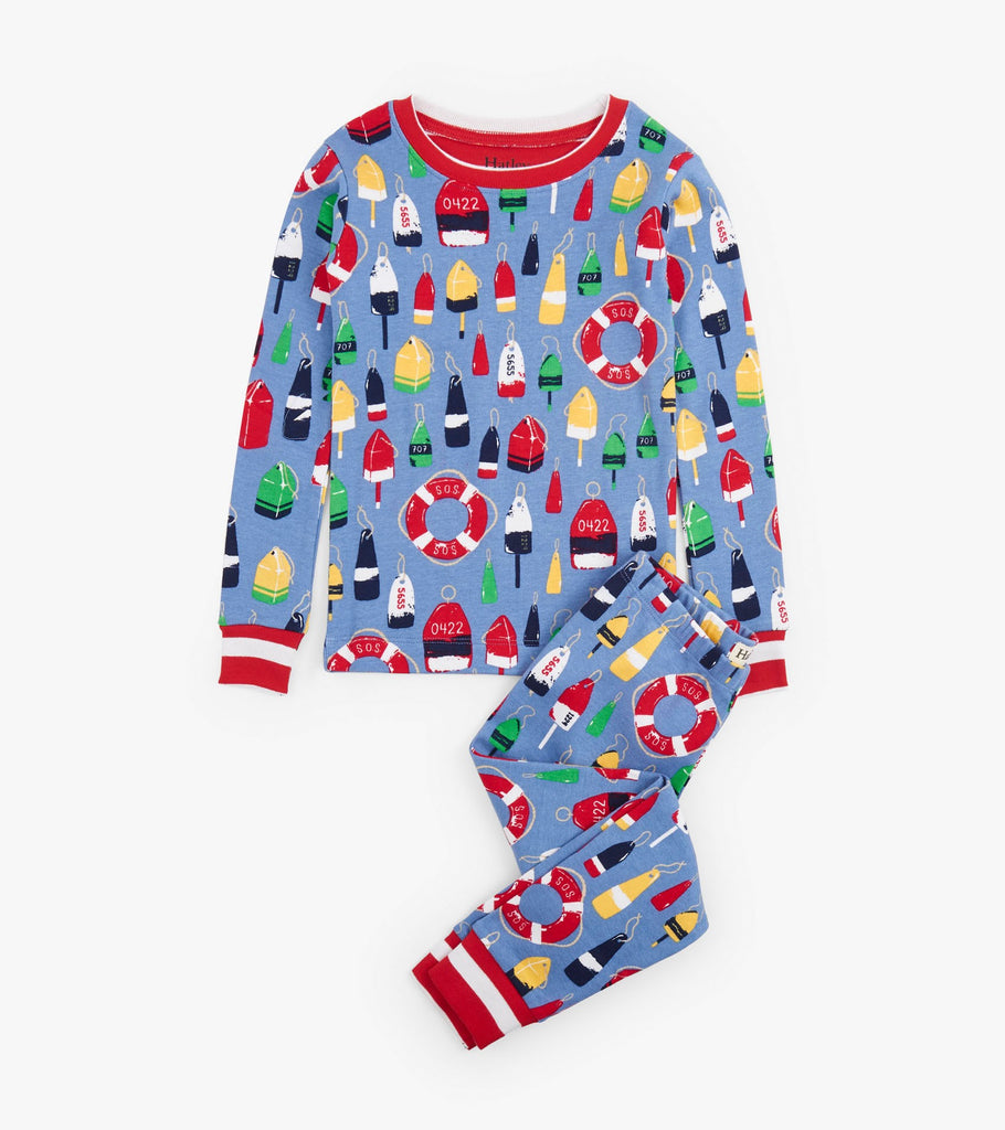 Paper Planes Organic Cotton Pajama Set