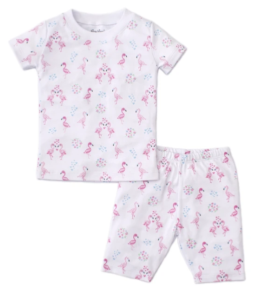 Flamingos Short Pajama Snug Set