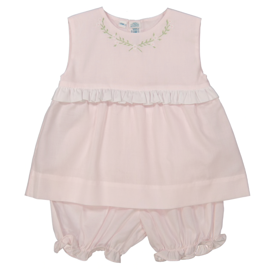 Sleeveless 2pc Bloomer Set